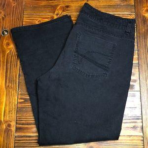 4/$25 Size 16P Lee Black Pants Jeans